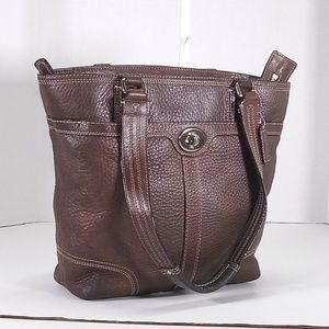 Coach Brown Tote Handbag
